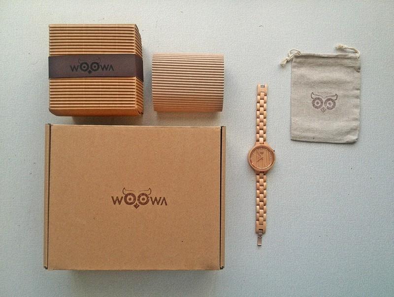 dřevěné hodinky woowa balení wooden watches package 800 600