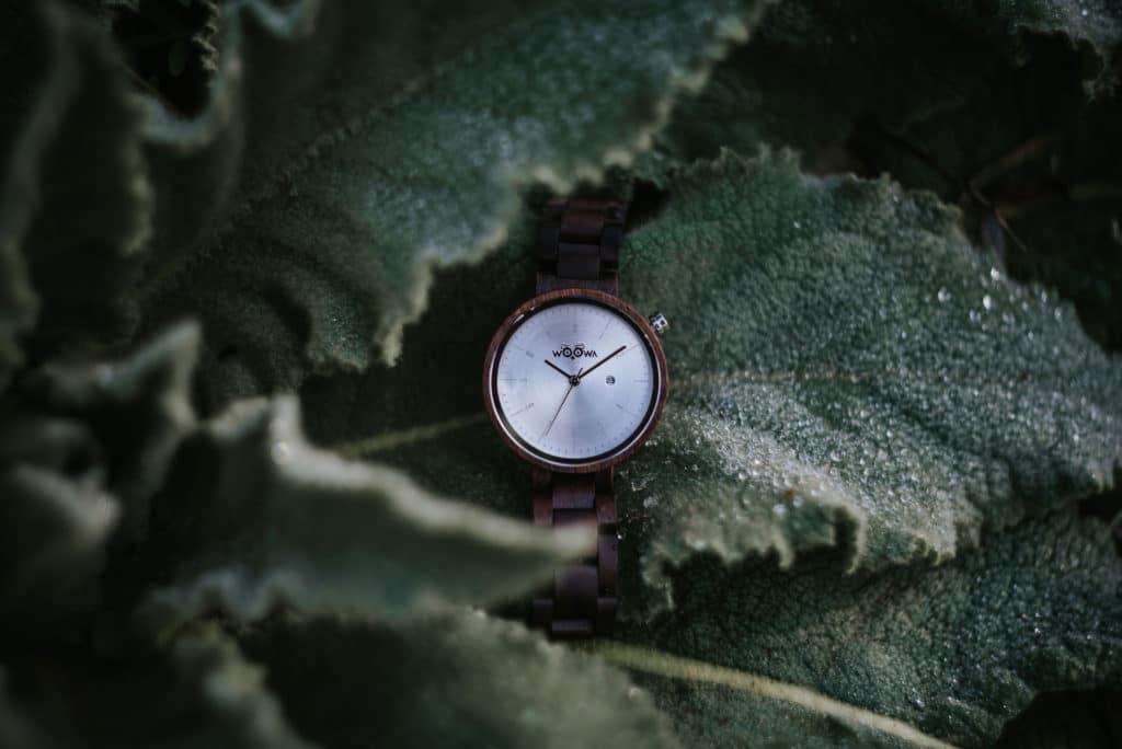 Dřevěné hodinky Mirri Walnut