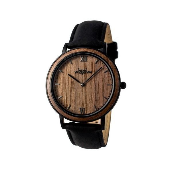 Drevene hodinky Woowa Leat Koa