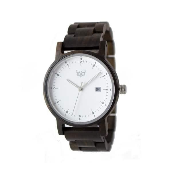 Dřevěné hodinky Bau Santal