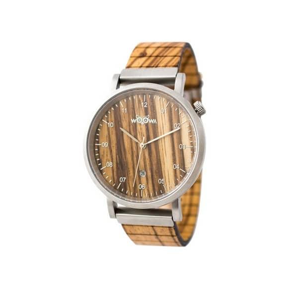 Dřevěné hodinky Sapp Zebrano