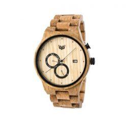 Dřevěné hodinky Fredd Oak
