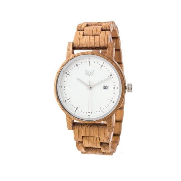 Dřevěné hodinky Bau Oak
