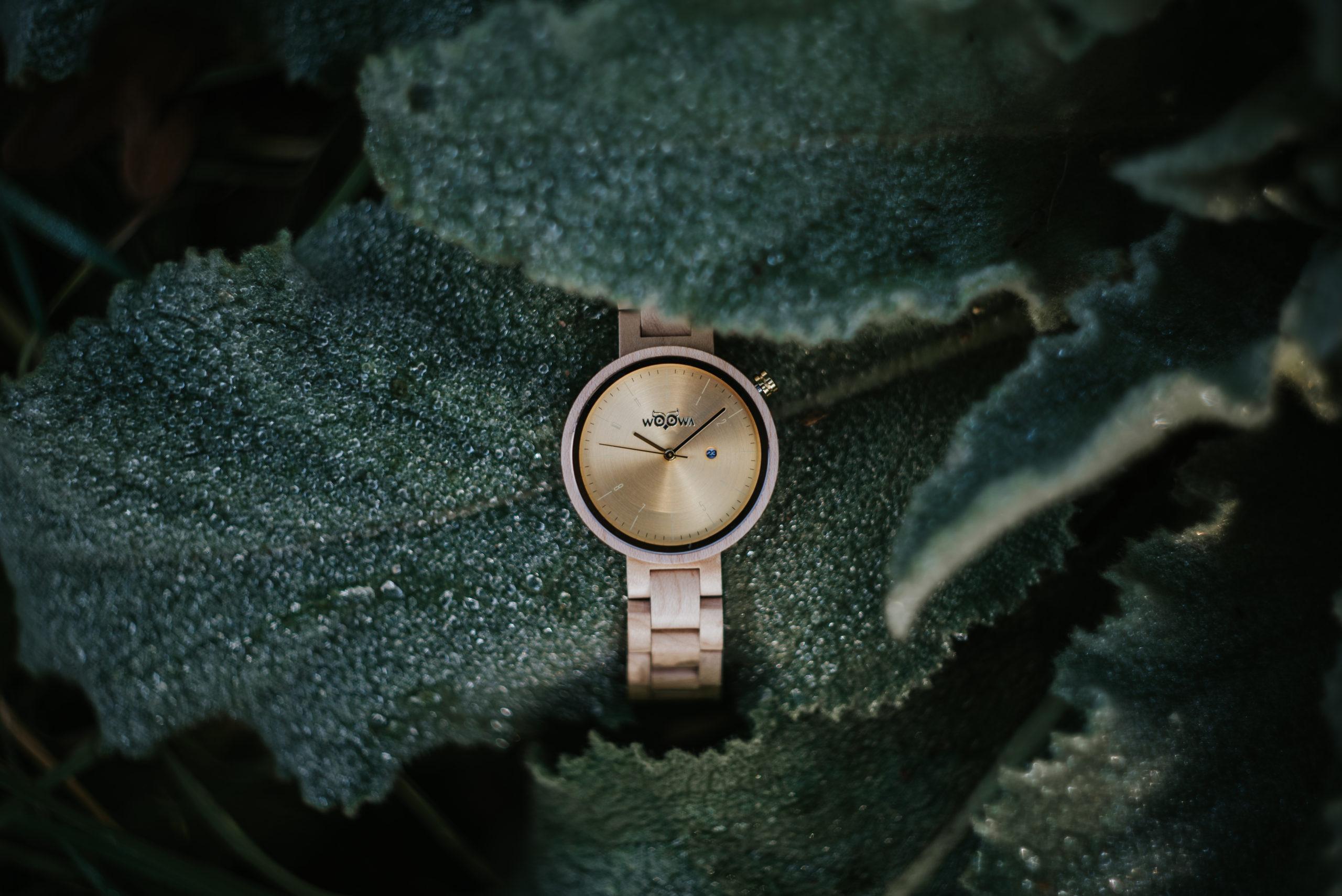 Dámské hodinky Mirri Maple jsou vyrobeny z javoru