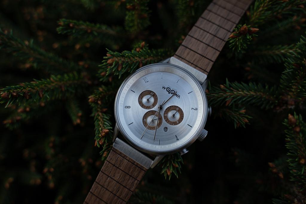 Pánské dřevěné hodinky Bert Walnut
