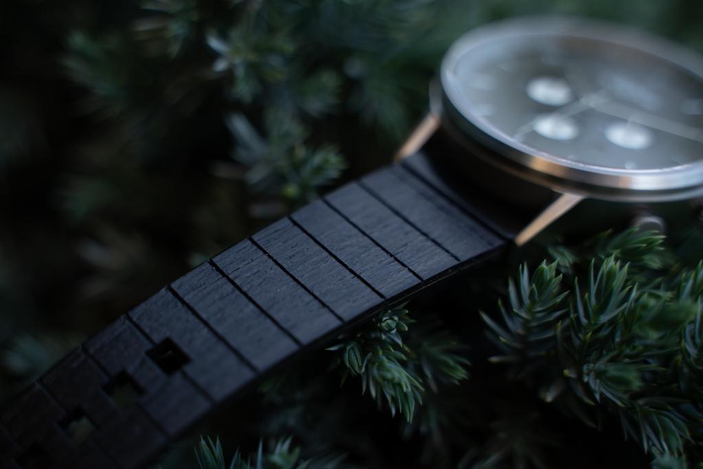 Dřevěný řemínek hodinek Bert Santal