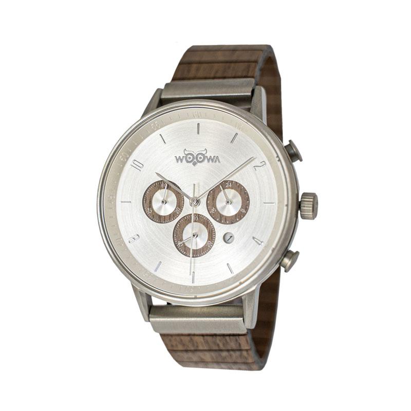 Dřevěné hodinky Bert Walnut